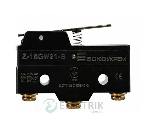 Микропереключатель Z-15GW21-B, АСКО-УКРЕМ