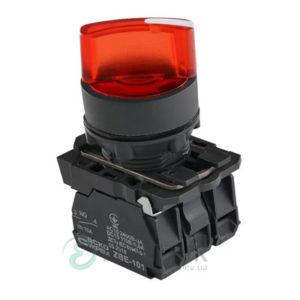 Переключатель на 2 положения с подсветкой красный TB5-AK124M5, АСКО-УКРЕМ