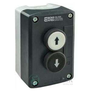 Пост кнопочный двухместный «ВВЕРХ -ВНИЗ» XAL-D222, АСКО-УКРЕМ