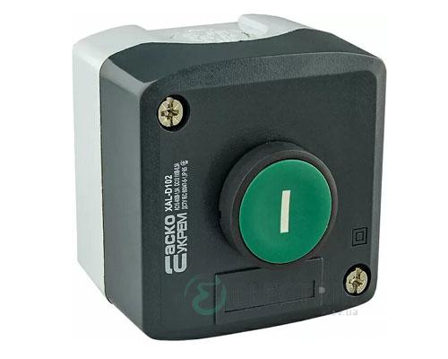 Пост кнопочный одноместный «ПУСК» XAL-D102, АСКО-УКРЕМ