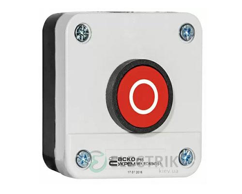 Пост кнопочный одноместный «СТОП» XAL-B112, АСКО-УКРЕМ