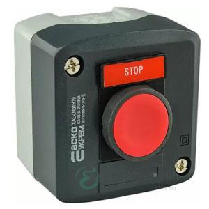 Пост кнопочный одноместный «СТОП» XAL-D111H29, АСКО-УКРЕМ