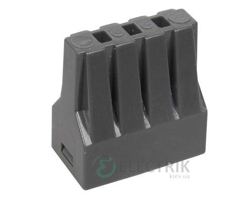 Строительно-монтажная клемма СМК 773-308 с пастой (упаковка 4 шт.), IEK