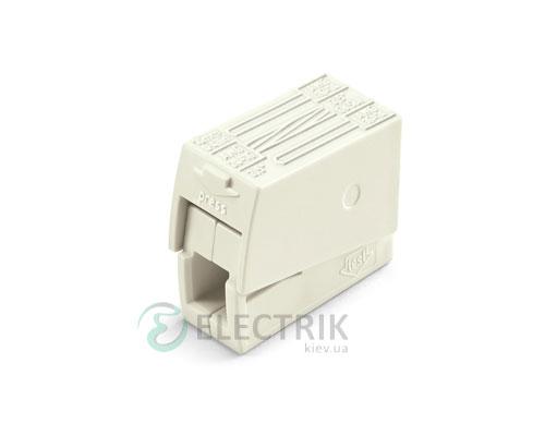 Строительно-монтажная клемма для светильников 2-проводная 1,0-2,5 мм² без пасты, WAGO (Германия)