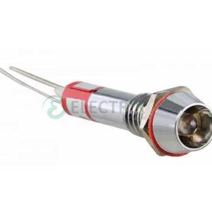 Светосигнальная арматура AD22C-6 белая 220В AC, АСКО-УКРЕМ