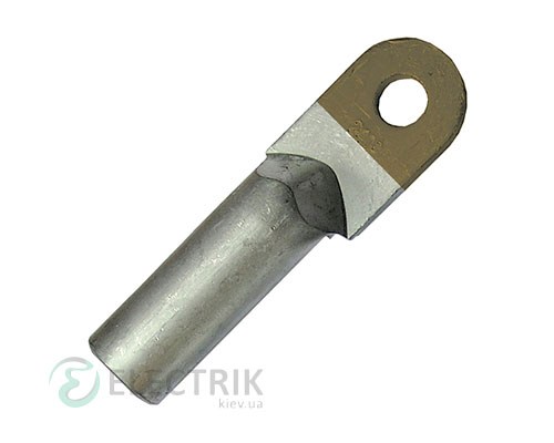 Наконечник e.end.stand.ca.dtl.1.120 медно-алюминиевый кабельный под опрессовку, E.NEXT