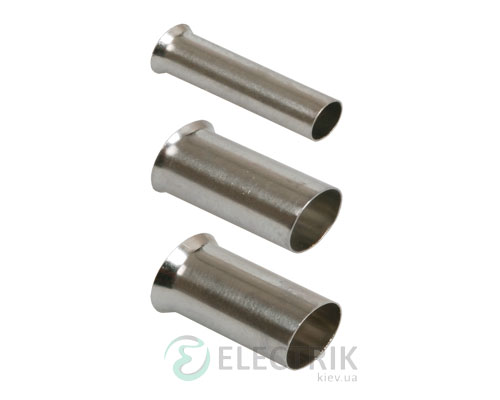 Наконечник-гильза НГ 1,0-6 без изоляции 1,0 мм² (упаковка 500 шт.), IEK