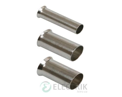 Наконечник-гильза НГ 2,5-12 без изоляции 2,5 мм² (упаковка 500 шт.), IEK