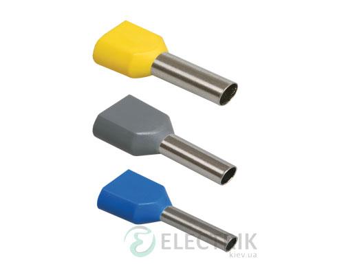 Наконечник-гильза НГИ2 1,0-8 2x1,0 мм² (упаковка 100 шт.), IEK