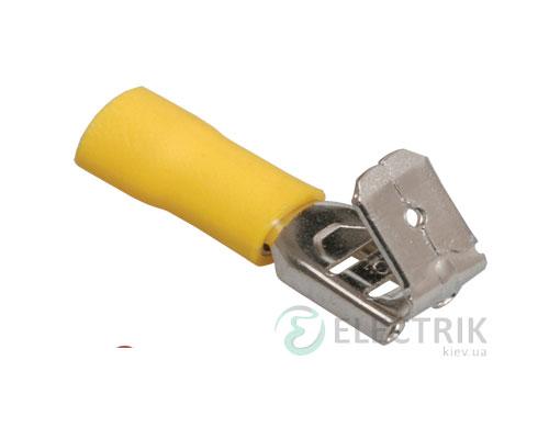 Разъем РпИо 6,0-7,5-0,8 плоский ответвительный 4,0-6,0 мм² (упаковка 100 шт.), IEK