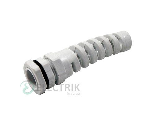 Ввод кабельный герметичный e.pg.protect.stand.16 с оплеткой диаметр кабеля 10-14 мм IP54, E.NEXT