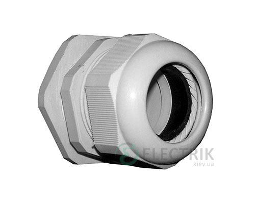 Ввод кабельный герметичный e.pg.stand.7 диаметр кабеля 3-6.5 мм IP54, E.NEXT