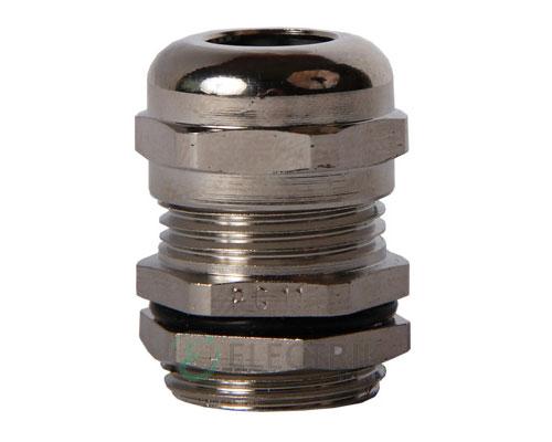 Ввод кабельный латунный герметичный e.met.pg.stand.11 диаметр кабеля 5-10 мм IP54, E.NEXT
