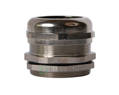 Ввод кабельный латунный герметичный e.met.pg.stand.48 диаметр кабеля 37-44 мм IP54, E.NEXT