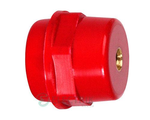 Изолятор силовой шины пластиковый e.bus.sm.stand.35.bk без болта, E.NEXT