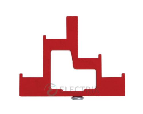 Изолятор ступенчатый ИС4-25/1-15 (4×М6; 1×М5) силовой, IEK