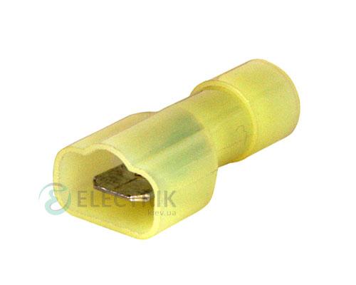 """Наконечник соединительный 4-6 мм² """"папа"""" (упаковка 100 шт.) e.terminal.stand.mdfn5.5.250.yellow, E.NEXT"""