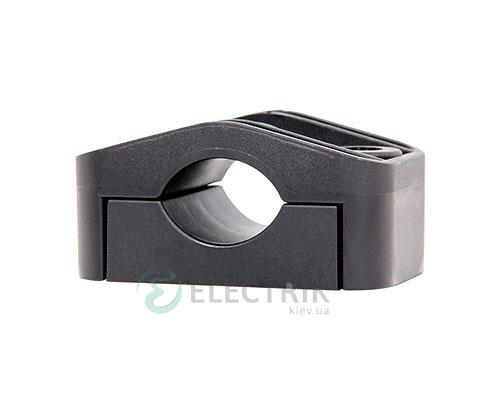 Хомут KO-27 для кабеля ∅16-27 мм черный, E.NEXT