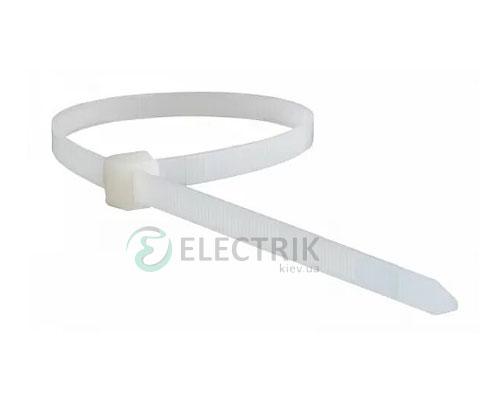 Хомут кабельный 300×3,5 мм белый (упаковка 100 шт.), АСКО-УКРЕМ