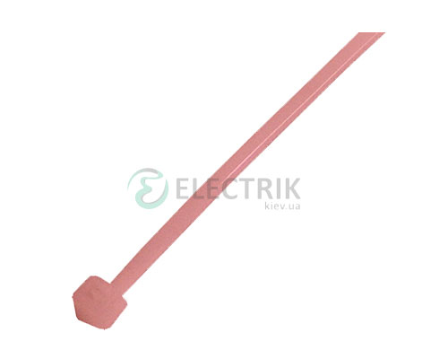 Хомут кабельный e.ct.stand.200.5.red, 4,8×200 мм нейлон красный (упаковка 100 шт.), E.NEXT