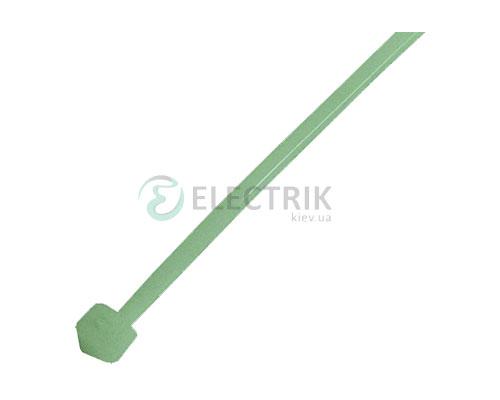 Хомут кабельный e.ct.stand.300.5.green, 4,8×300 мм нейлон зеленый (упаковка 100 шт.), E.NEXT