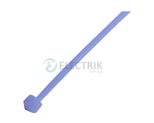 Хомут кабельный e.ct.stand.300.8.blue, 7×300 мм нейлон синий (упаковка 100 шт.), E.NEXT