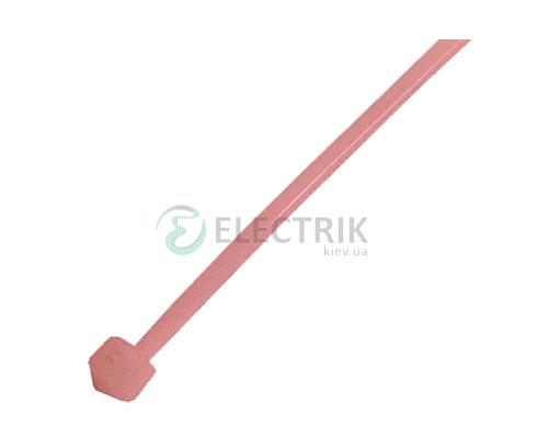 Хомут кабельный e.ct.stand.300.8.red, 7×300 мм нейлон красный (упаковка 100 шт.), E.NEXT