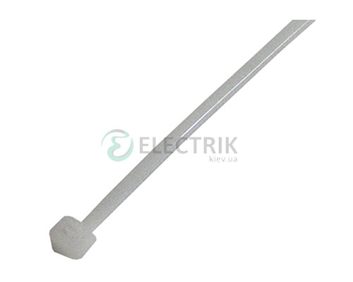 Хомут кабельный e.ct.stand.400.8.white, 7,9×400 мм нейлон белый (упаковка 100 шт.), E.NEXT