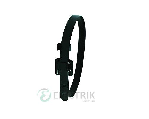 Хомут кабельный металлический 10×450 мм в изоляции e.steel.tie.ppa.10.450, E.NEXT