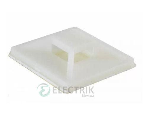 Площадка 40×40 для хомутов самоклеющаяся белая (50 шт) АСКО-УКРЕМ