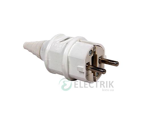 Силовая вилка переносная e.plug.pro.2.16 (012) 2P+PE (Schuko) 16А 220В IP44, E.NEXT