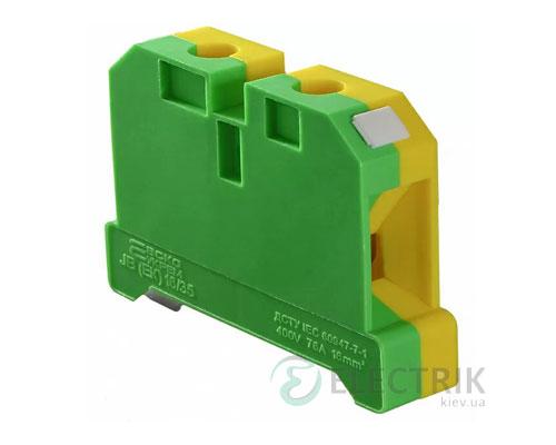 Винтовой заземляющий контактный зажим JB(ЕК) 16/35 на DIN-рейку, АСКО-УКРЕМ