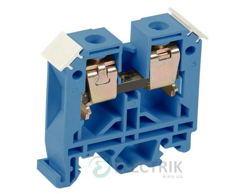 Зажим наборный ЗНИ-6 мм² синий, IEK