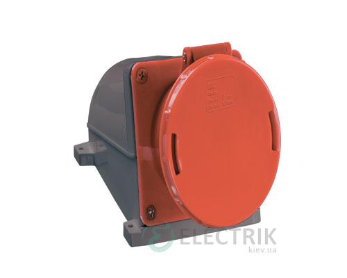 Розетка ССИ-145 стационарная 3P+PE+N 125А 380В IP54, IEK