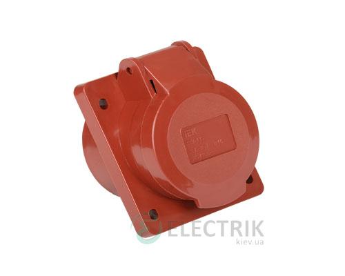 Розетка ССИ-415 стационарная для скрытой проводки 3P+PE+N 16А 380В IP44, IEK