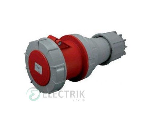 Розетка кабельная ESH-12543 IP67 (125A, 400V, 3P+PE), ETI (Словения)