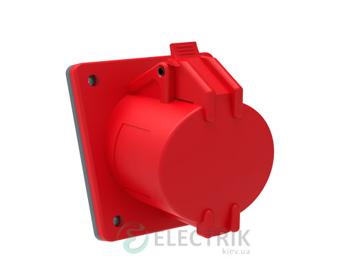 Розетка стационарная для скрытой проводки ССИ-414 MAGNUM 3P+PE 16А 380В IP44, IEK