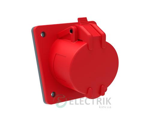 Розетка стационарная для скрытой проводки ССИ-415 MAGNUM 3P+PE+N 16А 380В IP44, IEK