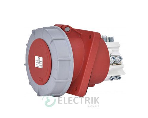 Розетка встраиваемая EEH-12543 IP67 (125A, 400V, 3P+PE), ETI (Словения)