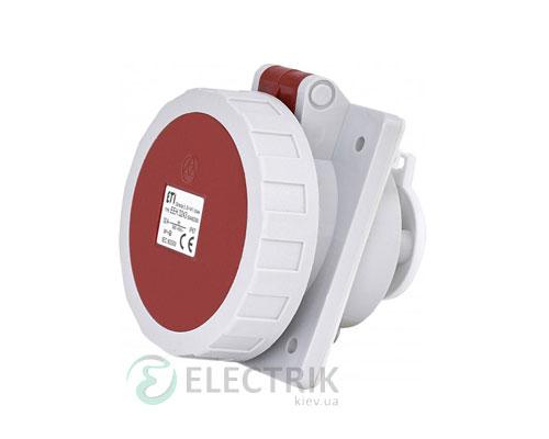 Розетка встраиваемая EEH-3243 IP67 (32A, 400V, 3P+PE), ETI (Словения)