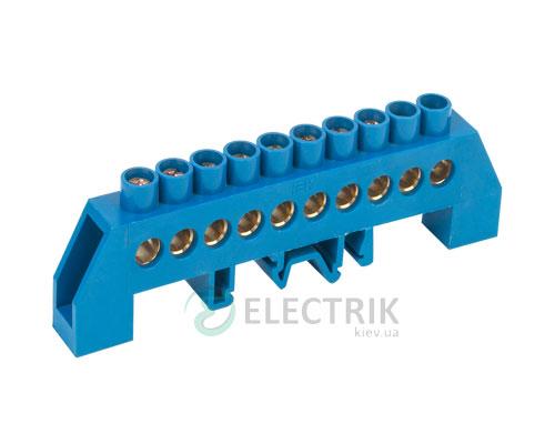 Шина нулевая в комбинированном DIN-изоляторе типа «Стойка» ШНИ-8x12-10-КС-С, IEK