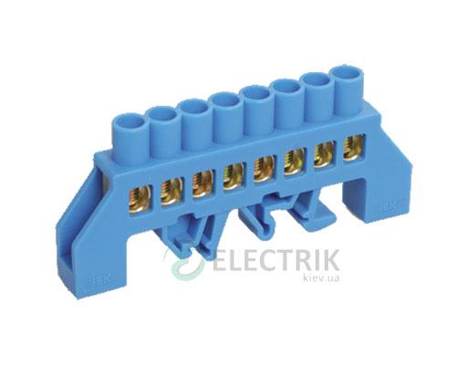 Шина нулевая в комбинированном DIN-изоляторе типа «Стойка» ШНИ-8x12-8-КС-С, IEK