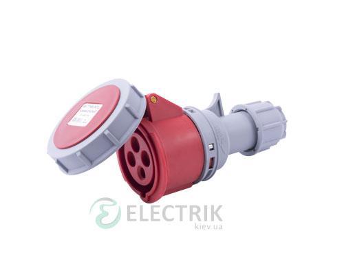 Силовая розетка переносная e.socket.214.16.67 3P+PE 16А 400В IP67, E.NEXT