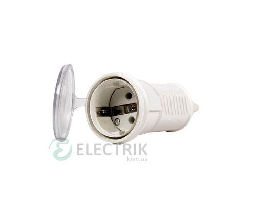 Силовая розетка переносная e.socket.pro.2.16 (212) 2P+PE (Schuko) 16А 220В IP44, E.NEXT