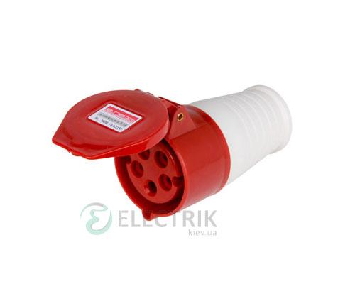Силовая розетка переносная e.socket.pro.5.16 (215) 3P+N+PE 16А 380В IP44, E.NEXT