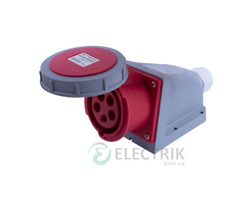 Силовая розетка стационарная e.socket.115.16.67 3P+N+PE 16А 400В IP67, E.NEXT