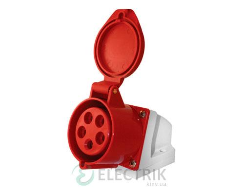 Силовая розетка стационарная e.socket.pro.5.16 (115) 3P+N+PE 16А 380В IP44, E.NEXT