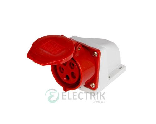 Силовая розетка стационарная e.socket.pro.5.32 (125) 3P+N+PE 32А 380В IP44, E.NEXT