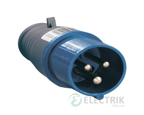 Вилка ССИ-013 переносная 2P+PE 16А 220В IP44, IEK