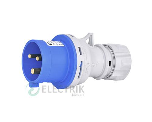 Вилка кабельная EV-3232 IP44 (32A, 230V, 2P+PE), ETI (Словения)